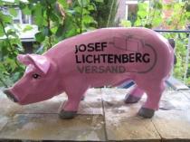 Sparschwein mit Logo