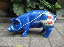 Sparschwein mit Leuchtturm