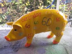 Sparschwein zum 60. Geburtstag_1