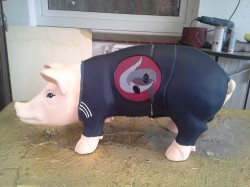 Sparschwein für den Judo-Verein_1