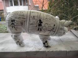 Sparschwein mit Comic_2