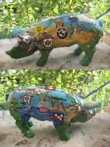 Sparschwein Lebensreise