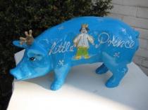 """Sparschwein """"Little Prince"""" zur Taufe"""