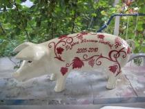Sparschwein für ein Geschäftsjubiläum