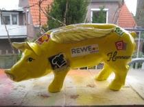 Sparschwein mit Flügeln