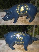 Sparschwein mit Sternzeichen
